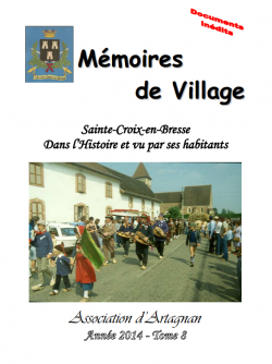 Mémoires de Village - Tome 8